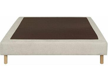 Sommier tapissier Senesi  Écru 120x190 cm