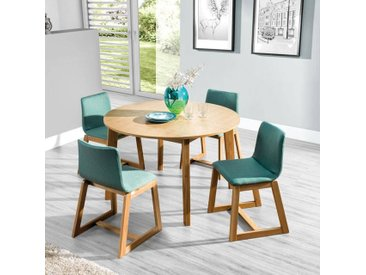 Table ronde extensible SCANDI Dimensions - 95 / 50+50