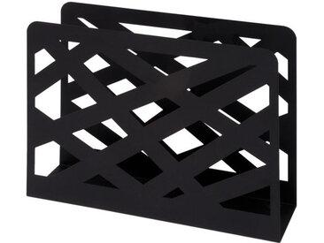 Porte revue moderne noir Asty