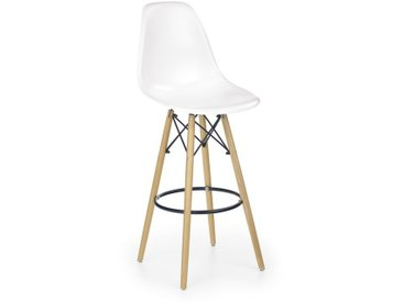 Chaise haute métal et bois Stilys