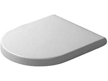 Duravit Starck 3 - Siège WC Compact sans fermeture amortie blanc