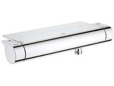 Grohe Grohtherm 2000 - Mitigeur thermostatique de douche avec 1 sortie et EasyReach Tablette chrome