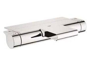 Grohe Grohtherm 2000 - Mitigeur thermostatique de bain avec 2 sorties et EasyReach Tablette chrome