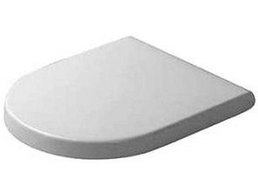 Duravit Starck 3 - Siège WC Compact avec fermeture amortie & amovible blanc