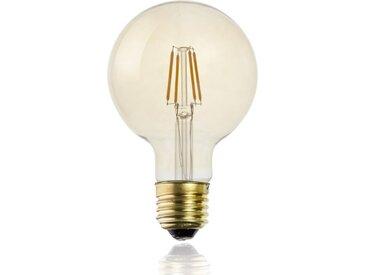 """Ampoule G95 Filaments LED """"Droit"""" 2W Ambre - Paris Prix"""