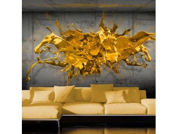 "Papier Peint ""Yellow Splash"" - Paris Prix"