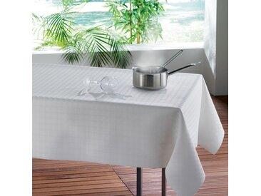 "Sous Nappe Protège Table ""Bulgo"" 140x190cm Blanc - Paris Prix"