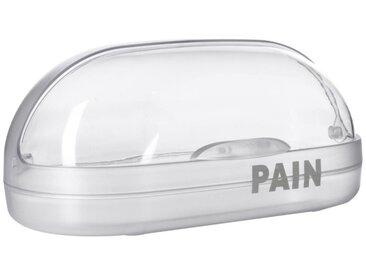 Boîte à Pain Arrondie 36cm Transparente - Paris Prix
