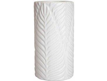 """Pied de Lampe Design """"Fresh Garden"""" 16cm Blanc - Paris Prix"""