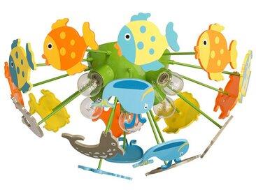 """Plafonnier Enfant """"Fishy"""" Multicolore - Paris Prix"""