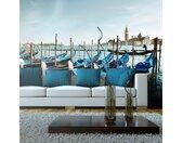 """Papier Peint XXL """"Gondoles du Grand Canal, Venise"""" 270x550cm"""
