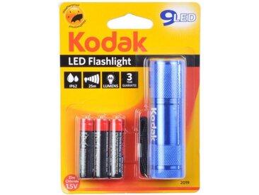 "Lampe Torche 9 LED ""Flashlight"" 8cm Bleu - Paris Prix"
