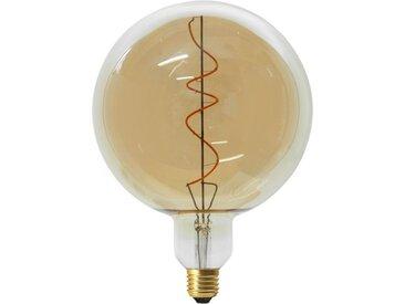 """Ampoule G200 Filaments LED """"Spiral"""" 6W Ambre - Paris Prix"""