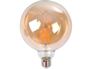"""Ampoule LED Décorative """"Globe"""" 17cm Orange - Paris Prix"""