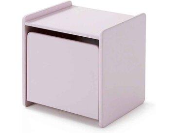 """Table de Chevet Enfant """"Kiddy"""" 40cm Rose - Paris Prix"""