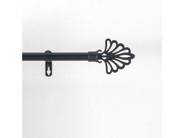 """Kit Tringle Déco Extensible """"Fika"""" 120-210cm Noir - Paris Prix"""