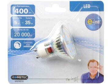 """Ampoule LED """"Spot"""" 5cm Argent - Paris Prix"""