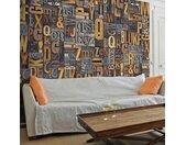 """Papier Peint """"Verbal Puzzle"""" 50x1000cm - Paris Prix"""