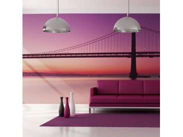 "Papier Peint XXL ""Baie San Francisco"" 270x550cm - Paris Prix"