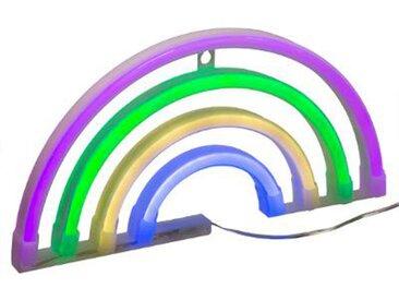 """Décoration Lumineuse Led """"Arc en Ciel"""" 28cm Multicolore - Paris Prix"""