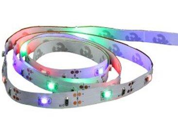 Ruban LED à Piles 1m Multicolore - Paris Prix