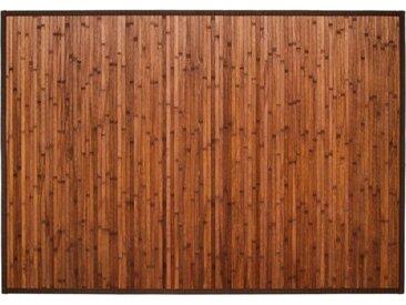 "Tapis en Bambou ""Latte"" 120x170cm Chocolat - Paris Prix"