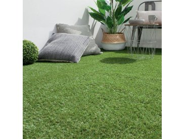 """Rouleau de Gazon Artificiel """"Grass"""" 100x300cm Vert - Paris Prix"""