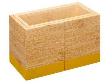 "Pot Range-Couverts Bambou ""Modern"" 18cm Moutarde - Paris Prix"