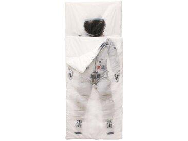 """Sac de Couchage Enfant """"Astronaute"""" 170cm Blanc - Paris Prix"""