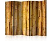 """Paravent 5 Volets """"Bamboo Garden"""" 172x225cm - Paris Prix"""