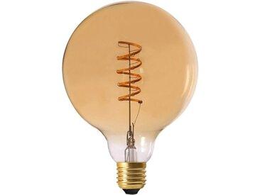 """Ampoule G125 Filaments LED """"Spiral"""" 2W Ambre - Paris Prix"""