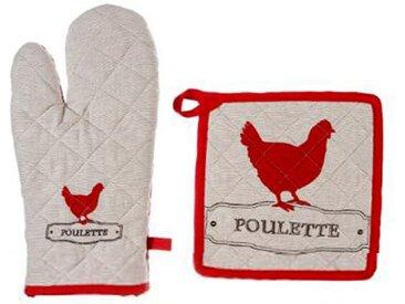 """Gant & Manique """"Poulette"""" 33cm Multicolore - Paris Prix"""