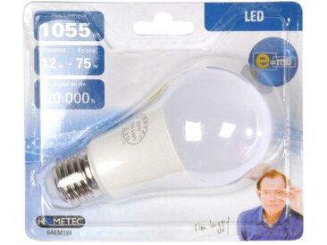 """Ampoule LED E27 """"Standard 12W"""" 12cm Blanc - Paris Prix"""