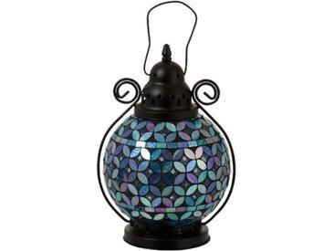 """Lanterne Design Mosaïque """"Ounas"""" 29cm Multicolore - Paris Prix"""
