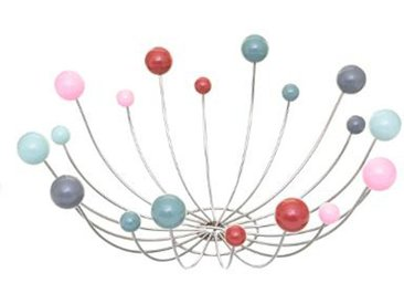 """Corbeille à Fruits Design """"Boules"""" 36cm Multicolore - Paris Prix"""