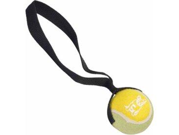 """Jouet pour Chien """"Balle de Tennis"""" 20cm Jaune & Noir - Paris Prix"""