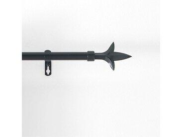 """Kit Tringle Déco Extensible """"Louis"""" 120-210cm Noir - Paris Prix"""