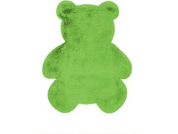 """Tapis Déco Enfant """"Lovely Teddy"""" 73x90cm Vert - Paris Prix"""
