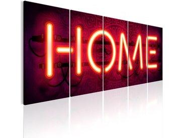 """Tableau Imprimé """"Home Neon"""" - Paris Prix"""