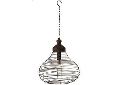 "Lampe Suspension à Led ""Nosta"" 62cm Rouille - Paris Prix"