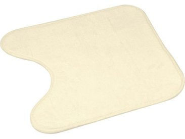 "Tapis Contour WC ""Vitamine II"" 45x45cm Naturel - Paris Prix"