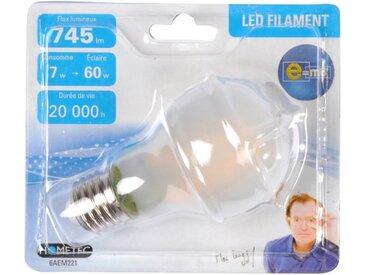 """Ampoule LED Filament E27 """"Standard 7W"""" 11cm Depoli - Paris Prix"""
