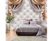 "Papier Peint ""Curtain of Luxury"" - Paris Prix"