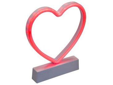 """Décoration Lumineuse Led """"Coeur"""" 22cm Rouge - Paris Prix"""