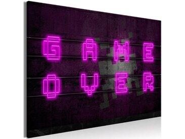 """Tableau Imprimé """"Pink Neon Wide"""" - Paris Prix"""