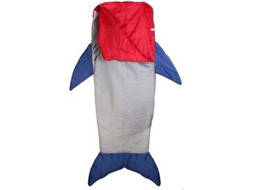"""Sac de Couchage Enfant """"Requin"""" 140cm Multicolore - Paris Prix"""