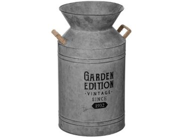 """Pot à Lait Déco Vintage """"Zinc"""" 48cm Gris - Paris Prix"""
