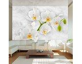 """Papier Peint """"Lyrical Orchid White"""" - Paris Prix"""