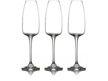 """Lot de 3 Flûtes à Champagne """"Andelle"""" Transparent - Paris Prix"""
