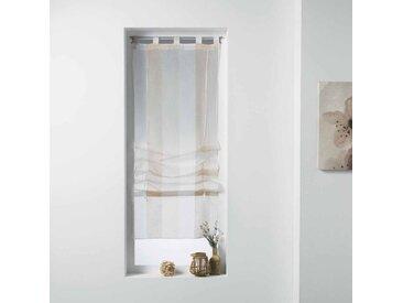 """Store Voilage """"Balina"""" 60x180cm Naturel - Paris Prix"""